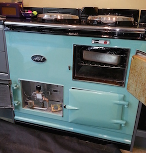 Service to an AGA Double Oven
