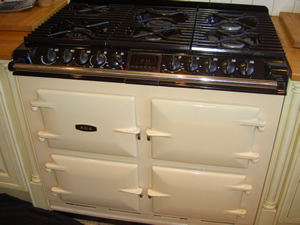 Repair to AGA DC6 Dual Fuel Cooker